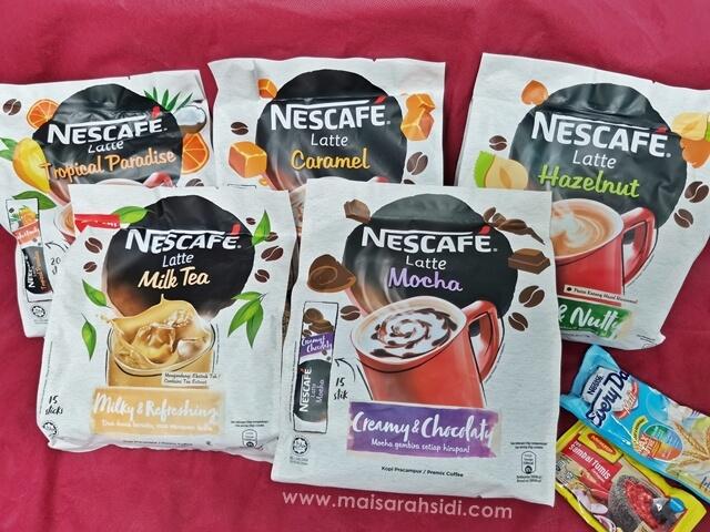 Seronok Beli Nescafe Latte di PG Mall, Dapat Hadiah Percuma