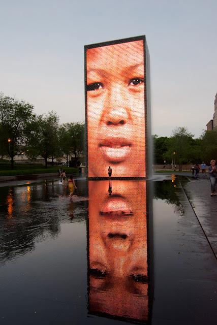 Crown Fountain - Jaume Plensa en Chicago