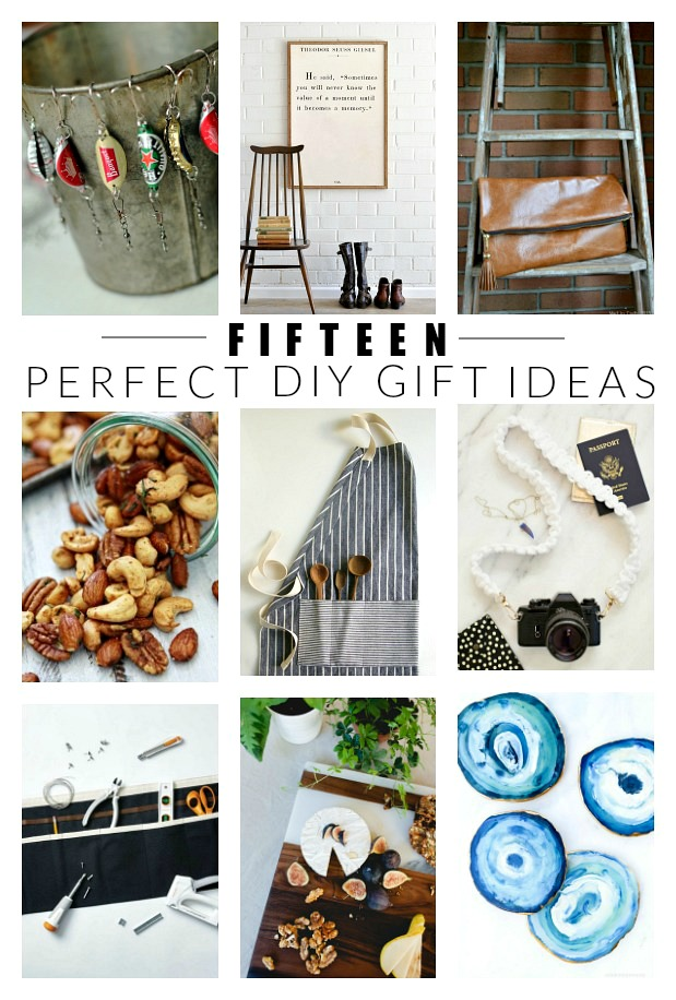 15 DIY gift ideas for everyone on your list