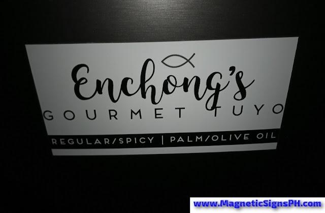 Logo Car Magnet - Enchong's Gourmet Tuyo