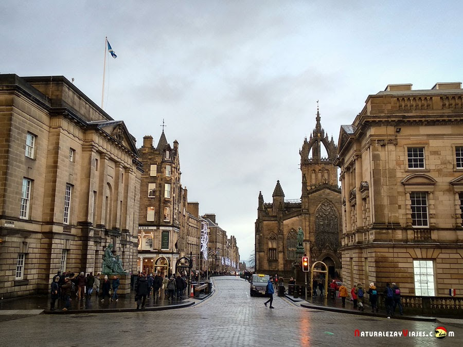 La Royal Mile de Edimburgo
