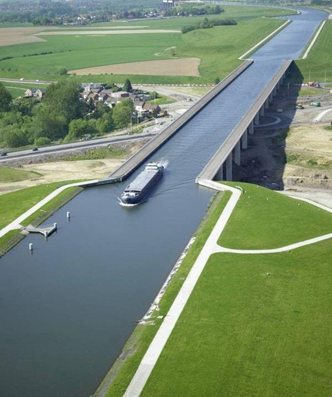 Cầu nước Pont du Sart - Bỉ