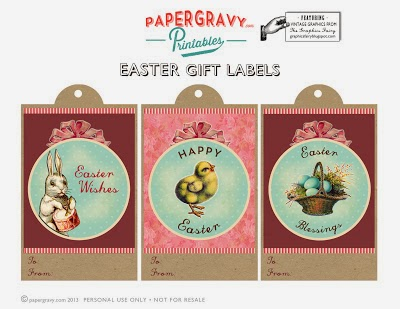 Harris sisters girltalk free easter printables happy easter treat tag printable from lolly jane negle Images