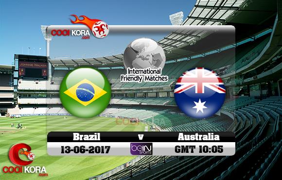 مشاهدة مباراة البرازيل وأستراليا اليوم 13-6-2017 مباراة ودية