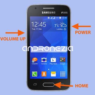 Cara Hard Reset Samsung Galaxy V Plus