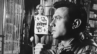 Laurence Harvey and the Queen of Hearts, The Manchurian Candidate