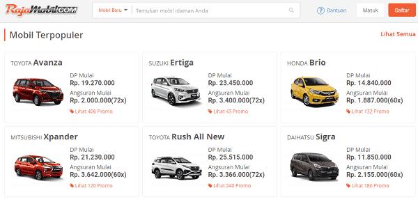 situs terpercaya untuk mencari mobil baru dan bekas