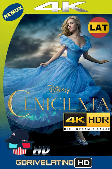 Cenicienta (2015) BDRemux 4K HDR Latino-Ingles MKV
