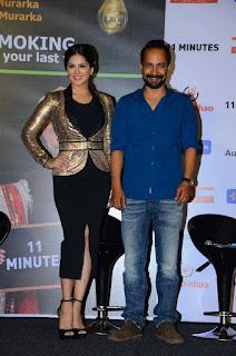 Actress Sunny Leon Latest Stills at Aneel Murarkas Anti Smoking film Event 0008