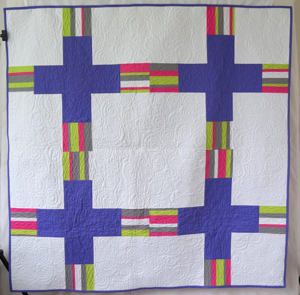 Quilty Habit Electrify Quilting Modern Quilts Blog Series