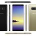 Ảnh rõ ràng của Galaxy Note 8 màu đen và vàng đồng