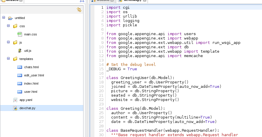 About me and my life ...: Using Codenvy with Google App Engine ...