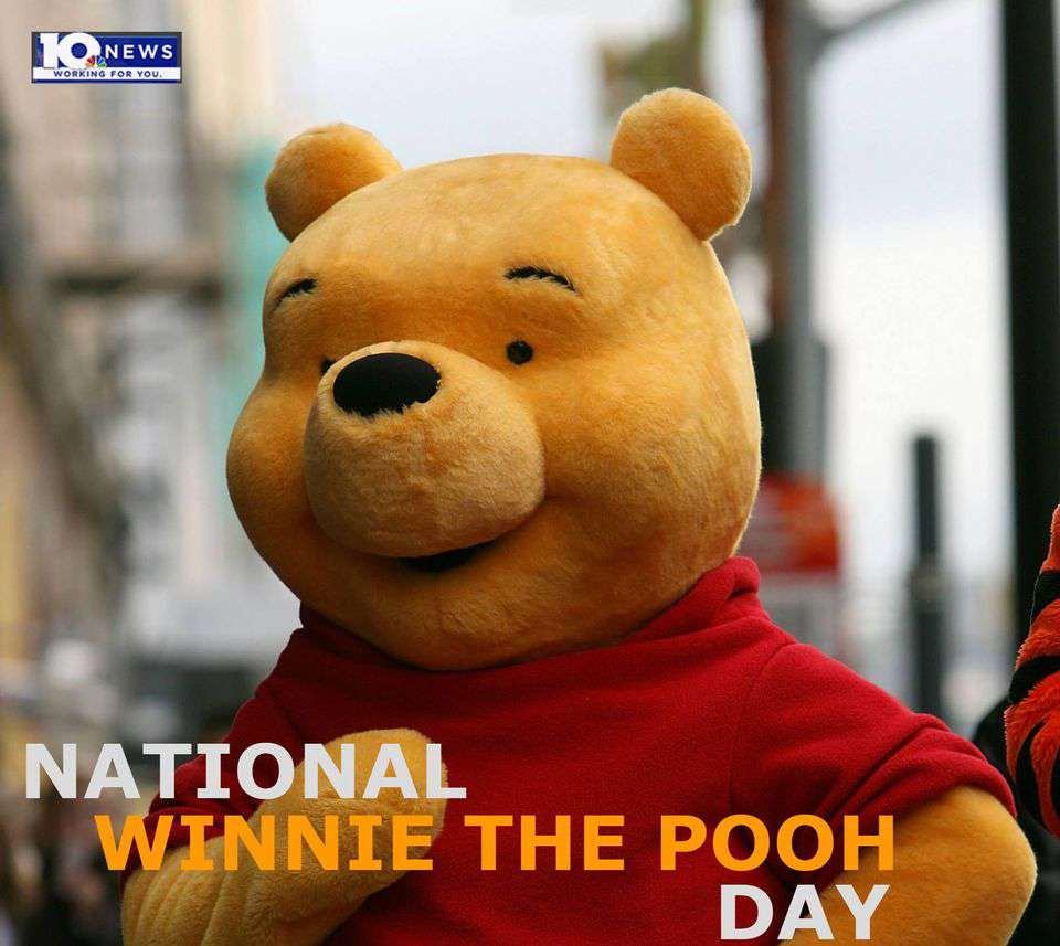 National Winnie the Pooh Day Wishes Awesome Images, Pictures, Photos, Wallpapers
