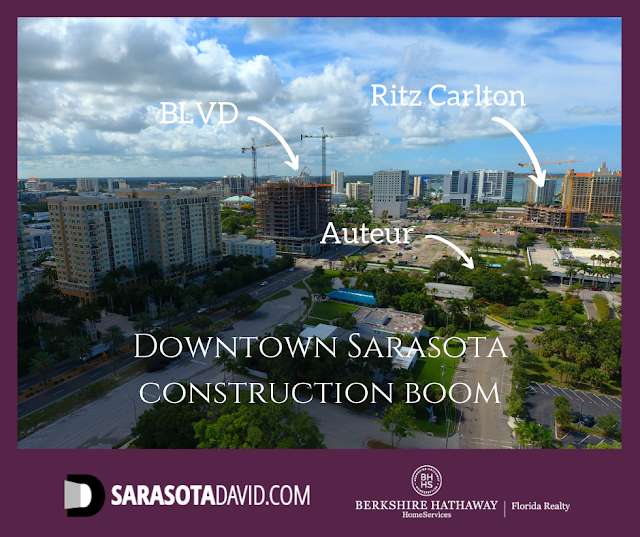 Downtown Sarasota luxury condo construction boom