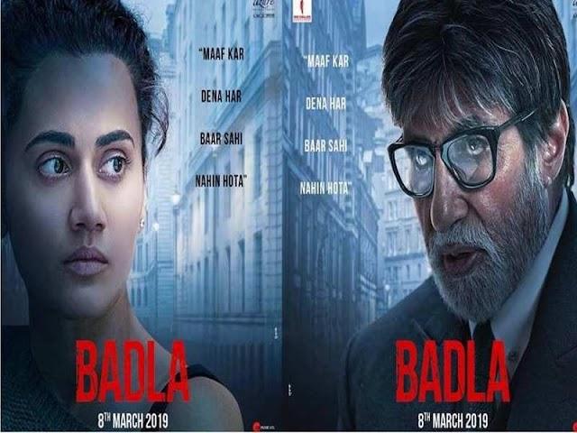 Badla Full Movie HD Leaked on Tamilrockers