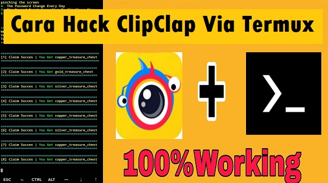 Cara Hack ClipClap Via Termux