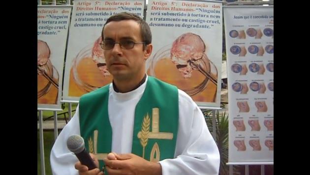 Pe. Pedro Stepien é diretor da Associação Nacional Pró-Vida e Pró-Família