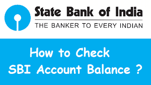 Here's how you can check State Bank of India balance online