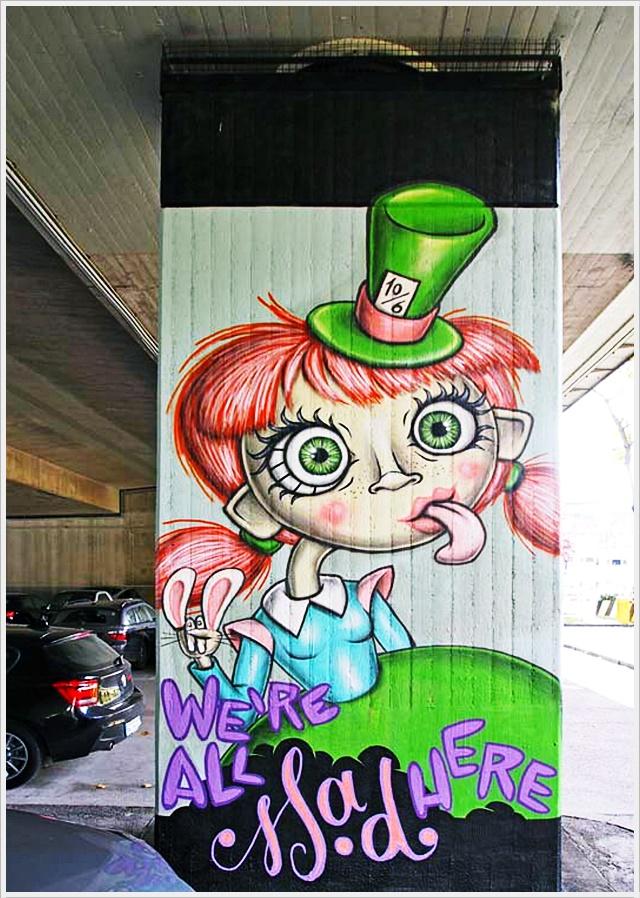 Street Art, Graffiti, München, Straßenkunst