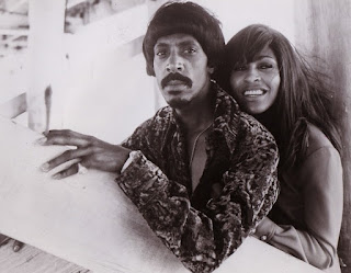 Linda's father Ike Turner with his ex-wife  Tina Turner