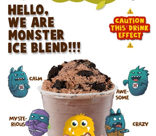 Franchise Minuman Monster Ice Blend