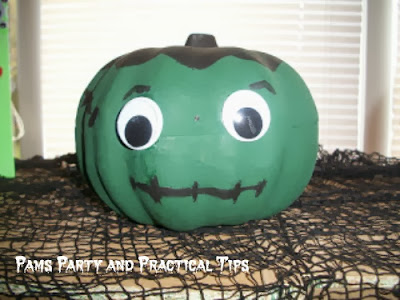 How to make a Frankenpumpkin