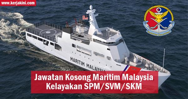 jawatan kosong maritim malaysia