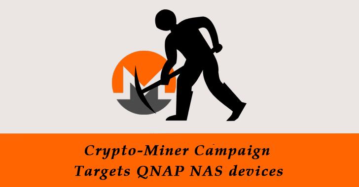 Crypto-Miner Campaign Targets QNAP NAS