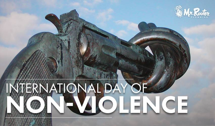 International Day of Non-Violence Wishes Awesome Picture
