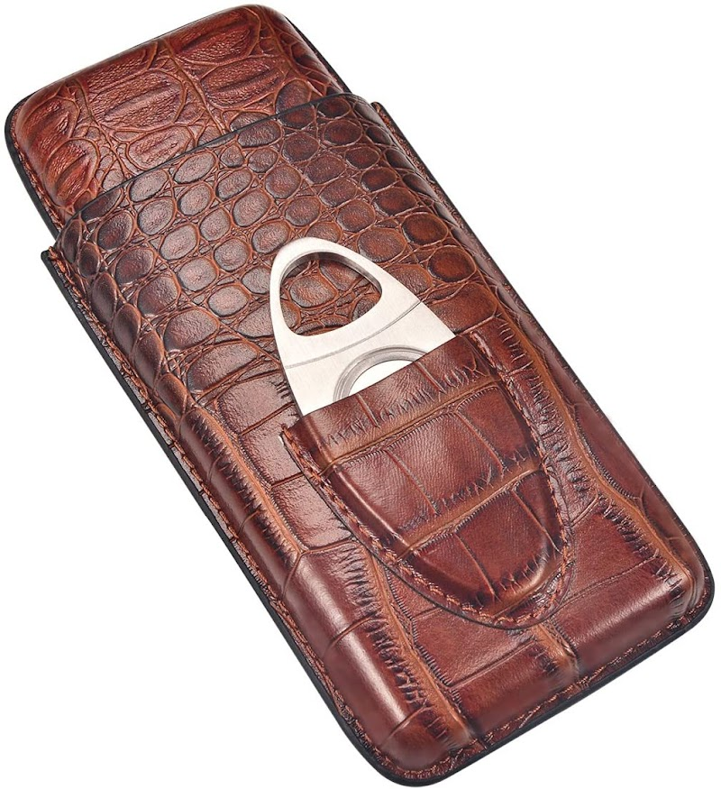 35% off Leather Cigar Case