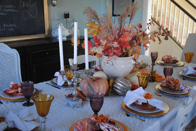 The Style Sisters Thanksgiving tablescape ideas