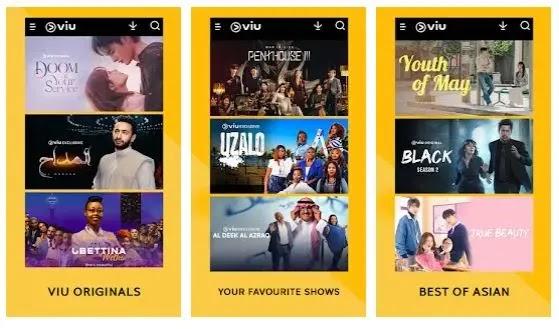 VIU - aplikasi nonton drama korea terbaru dan terupdate