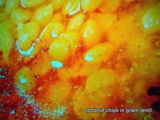 Creamy Lentil Sauce Narkel diye cholar dal recipe