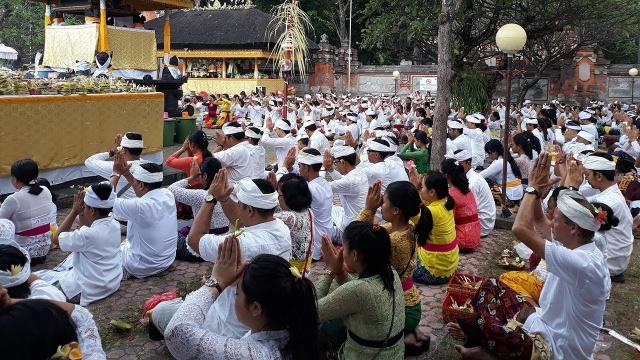 Kegiatan Keagamaan selama PPKM Darurat di Bali Dapat Dilakukan Terbatas Seizin Satgas