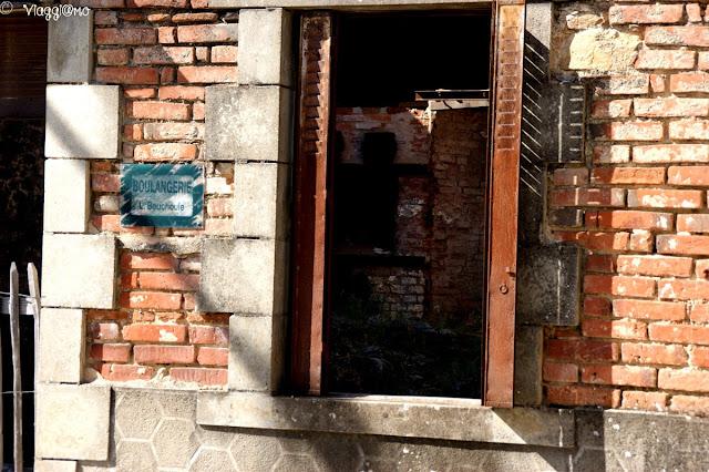Antico fornaio presente nel villaggio prima del massacro