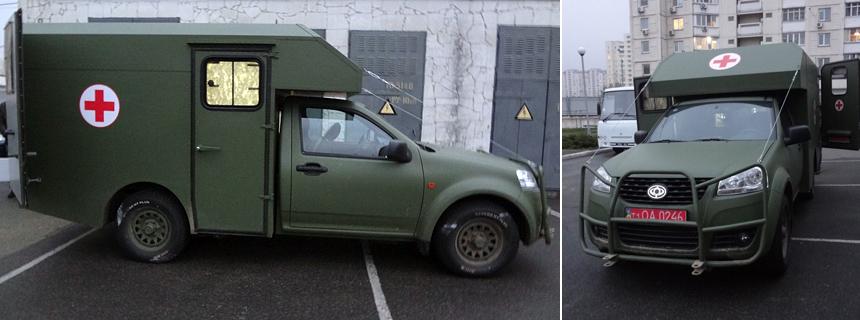санітарні автомобілі Богдан-2251