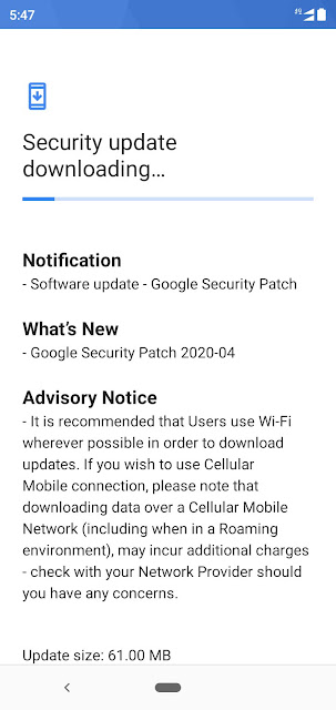 Nokia 5.1 Plus receiving April 2020 Android Security Patch