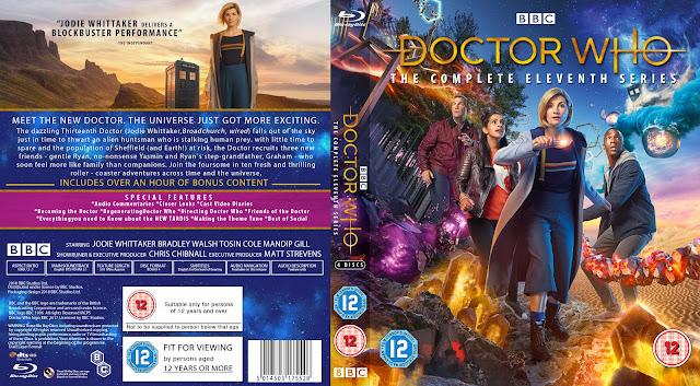 Doctor Who Season 11 DVD Cover