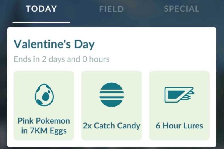 Pokémon GO Recurso Hoje