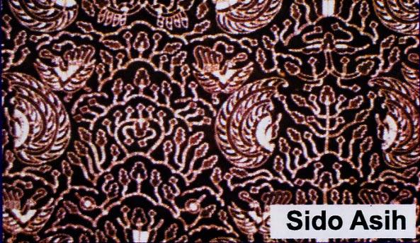 Macam macam batik: Batik Sido Asih