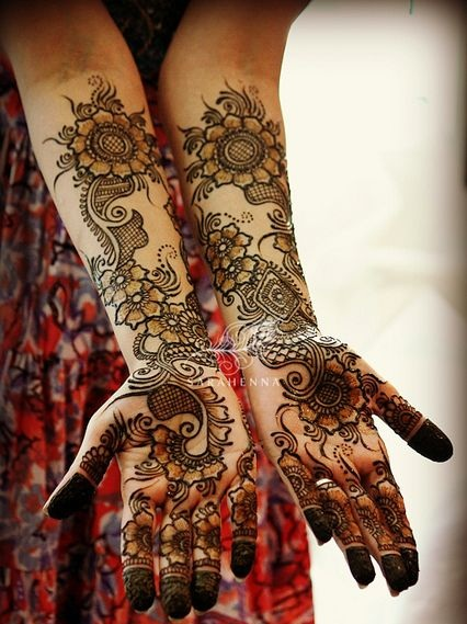 Arabic Mehndi Design For Bridal