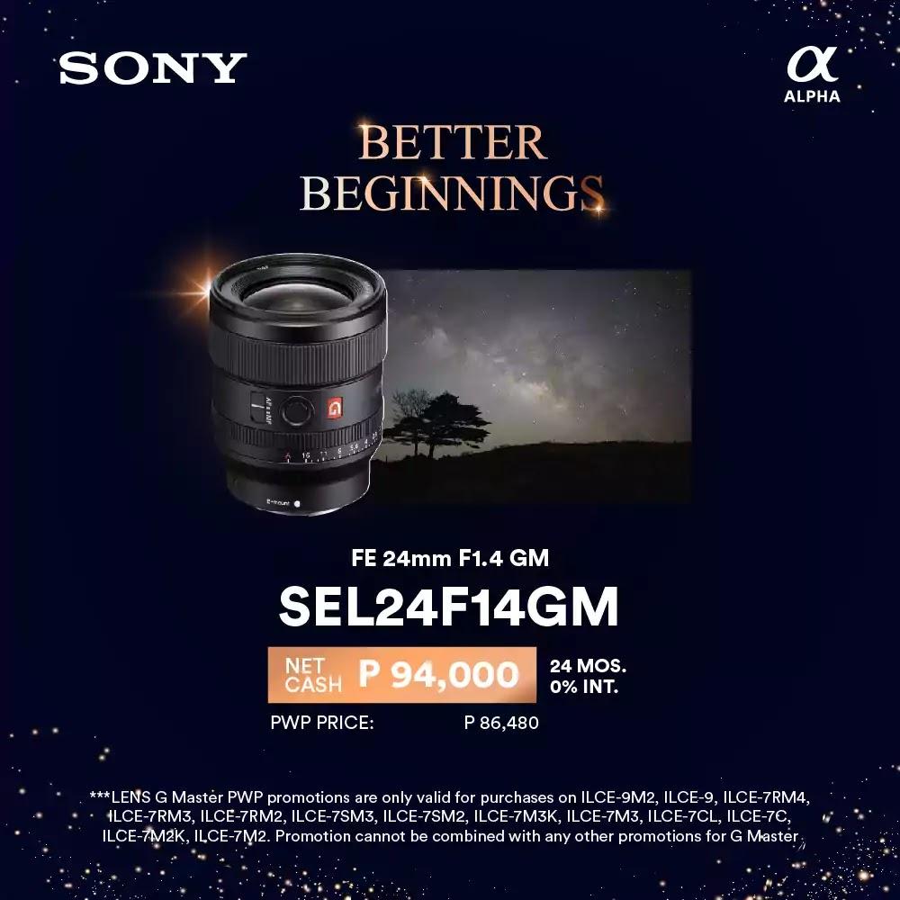 Sony January Promo