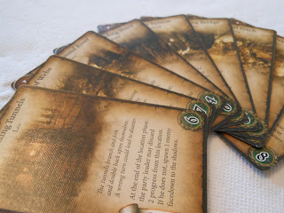 Warhammer Quest: The Adventure Card Game dungeon cards