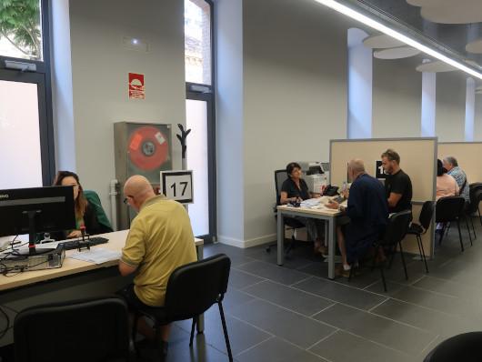 La Generalitat abre a la ciudadanía la nueva oficina PROP de la Ciutat Administrativa 9 d'Octubre