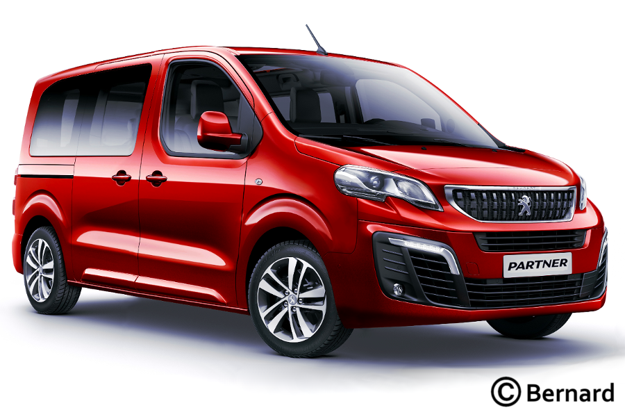 Bernard Car Design 2018 Citroen Berlingo Peugeot Partner