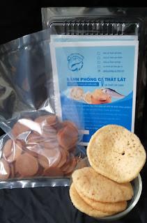 Bánh phồng cá Thát Lát đặc sản Châu Đốc - An Giang