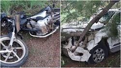 Colisão entre motocicleta e S10 mata professora na BR-343 em cidade do Piauí