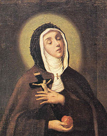 Veronica Giuliani was received into a monastery at the age of 17