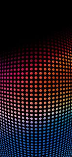 خلفيات ايفون شبكة نقاط ملونة