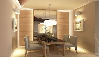 Meja Makan Modern di Ruang Sempit